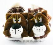 韩版优质棉绒卡通灰太狼喜羊羊翻盖手套