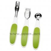 斯比塔 水果工具套装(绿色)【宜家代购】