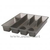 拉提纳尔 瓦瑞拉 餐具盘(31×26×4,灰色)【宜家代购】