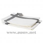 IKEA 365+ 格温迪 厨房用巾(白色,2件)【宜家代购】