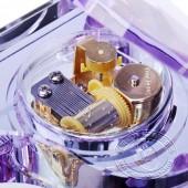 典雅紫水晶钢琴音乐盒