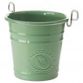 芬托 餐具架(绿色,镀镍)【宜家代购】