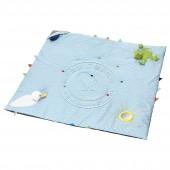 雷卡 儿童游戏垫(蓝色)【宜家代购】