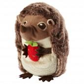 瓦林 艾吉克 发声玩具(抱草莓的小刺猬)【宜家代购】