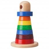 姆拉 玩具套环(多色,榉木)【宜家代购】