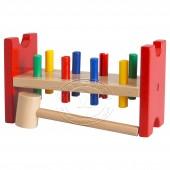 姆拉 玩具锤击块(多色)【宜家代购】
