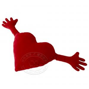 法姆尼 希亚塔 靠垫(红色)【宜家代购】
